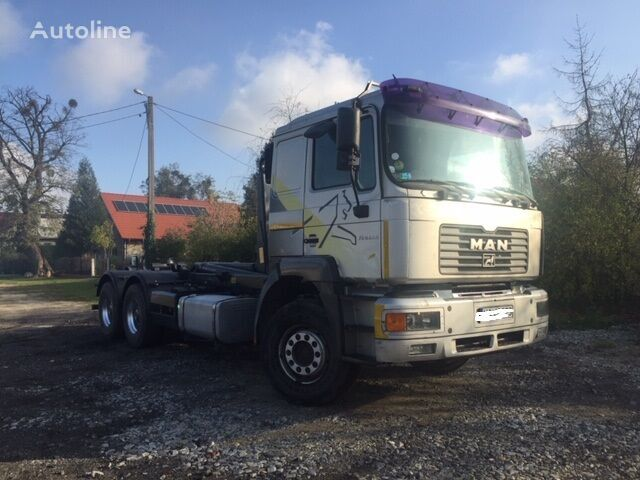 konkslift veoauto MAN FE 460 A