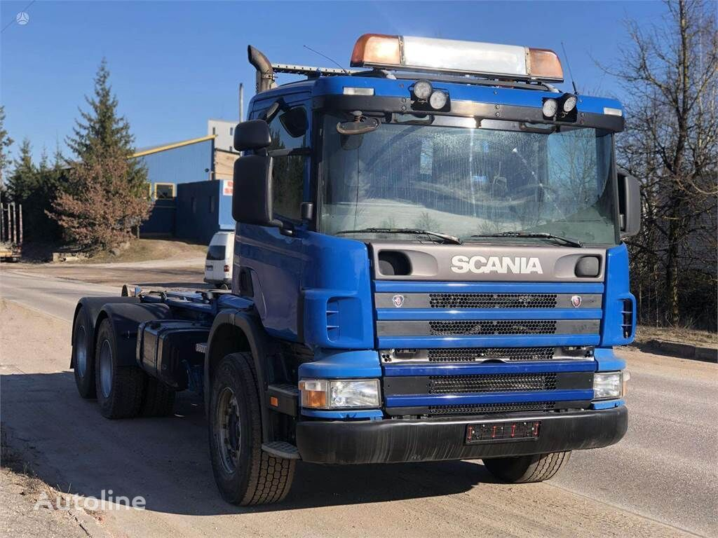 konkslift veoauto SCANIA 124