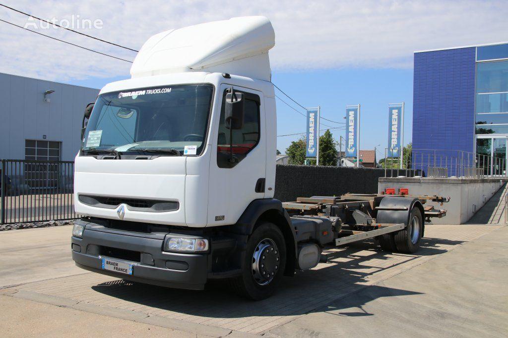 konteiner vedu veoauto RENAULT PREMIUM 270 DCI
