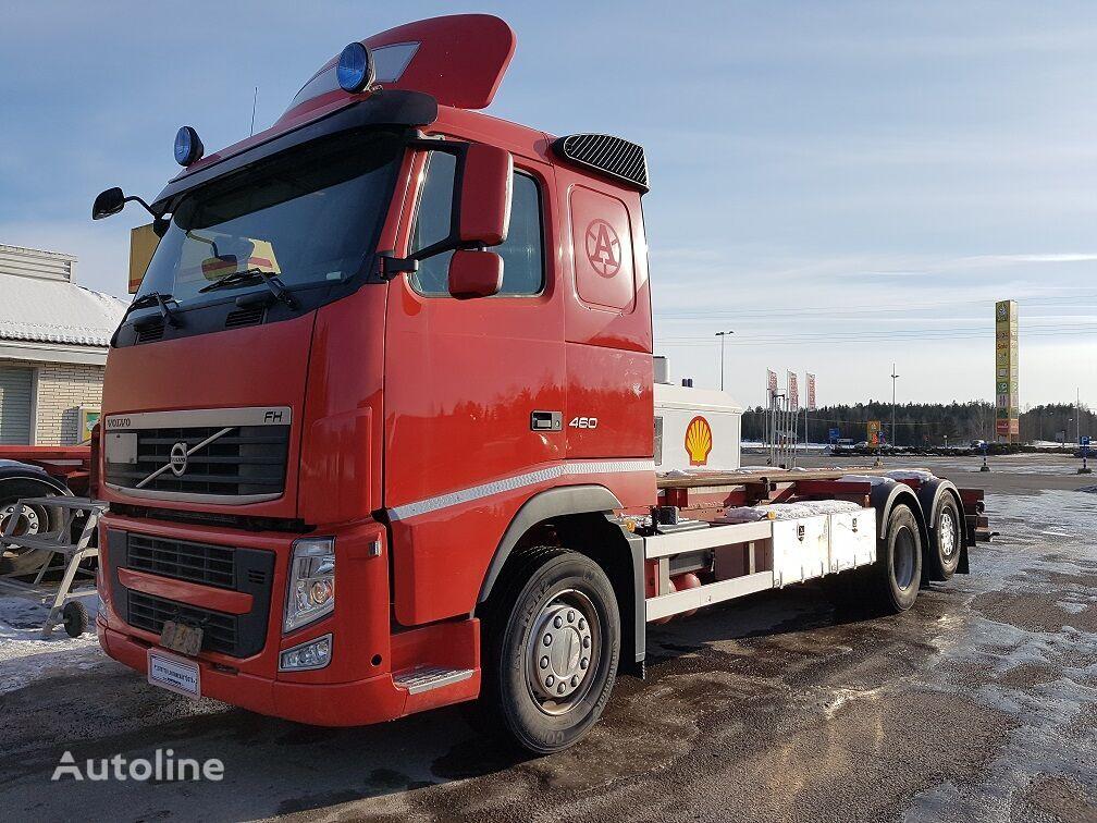 konteiner vedu veoauto VOLVO FH460 6x2