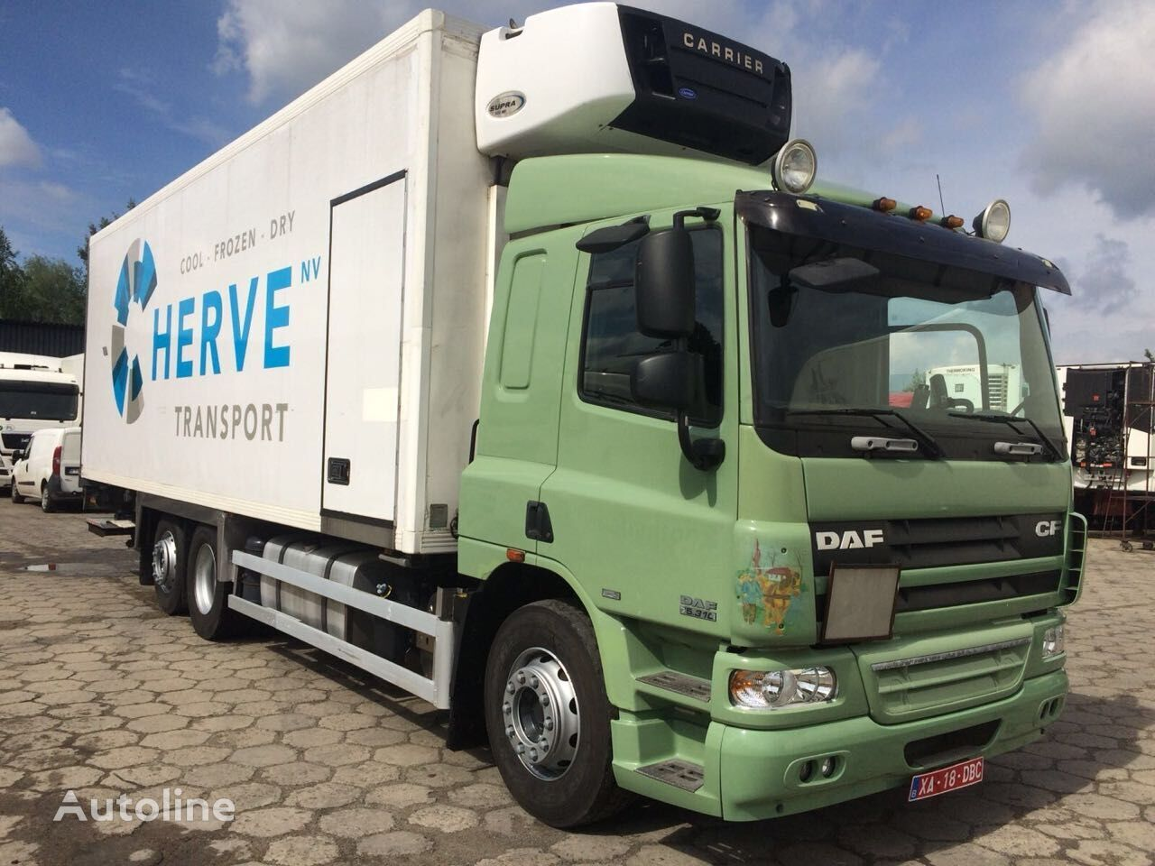 külmik veok DAF CF 75 310 Multitemperature