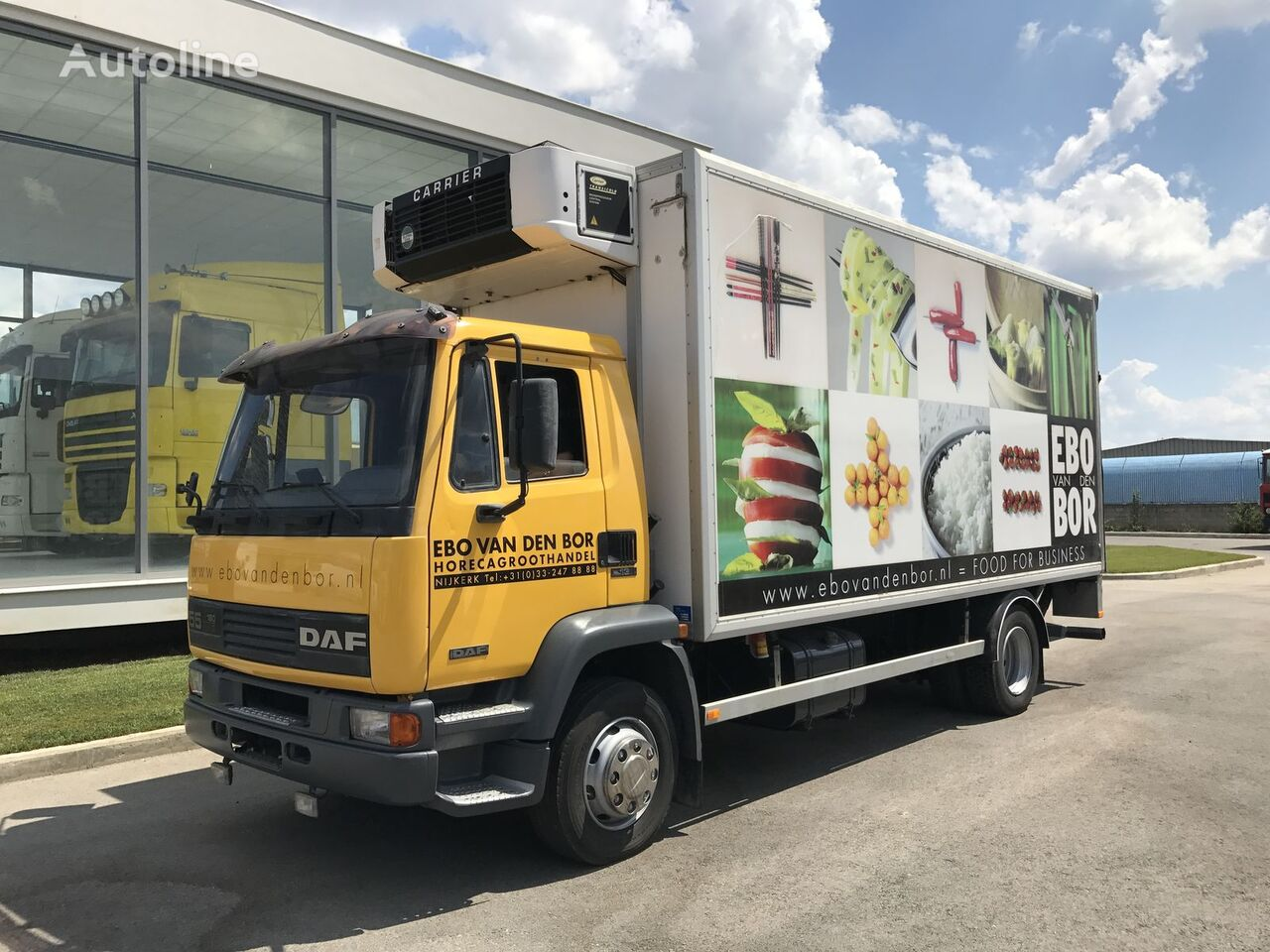 külmveok DAF 55.180 ATI EURO2 MANUAL + CARRIER + LBW *TOP*