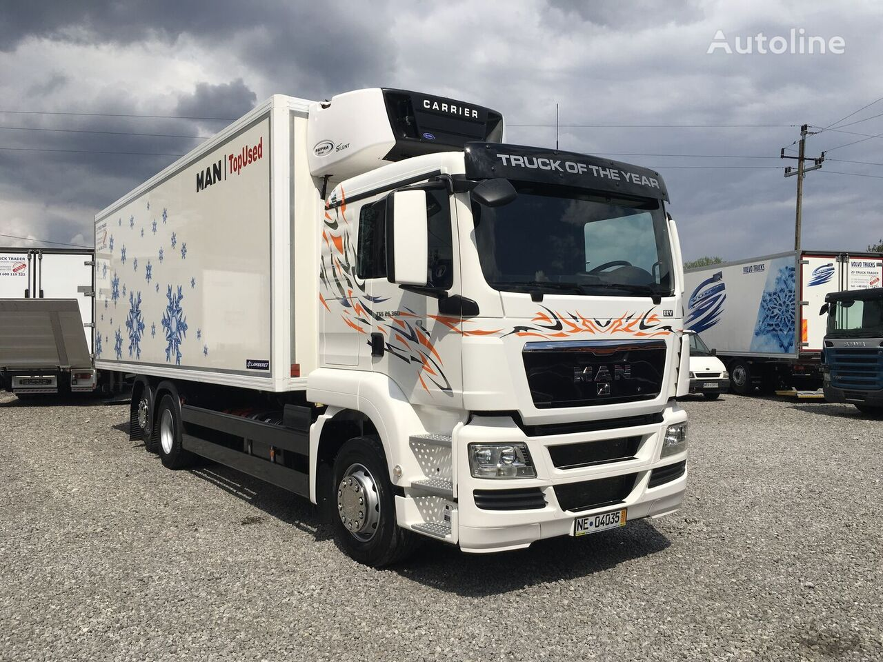 külmveok MAN TGX TGS 26.360 6x2 Multitemperatura , Super Stan !