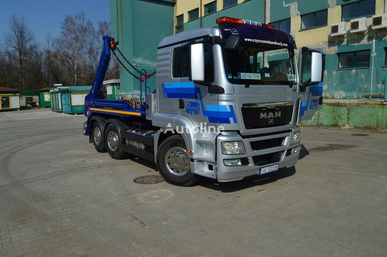 liftdumper veoauto MAN TGS 26.440 EEV 6x2 MEILLER AK 16