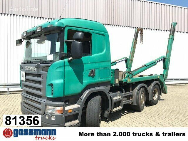 liftdumper veoauto SCANIA R420