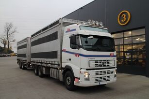 loomaveok veoauto VOLVO FH12.480 CHICKEN TRANSPORTER + loomaveohaagis