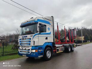 metsaveok veoauto SCANIA R560 6x4 do drewna drzewa lasu HDS