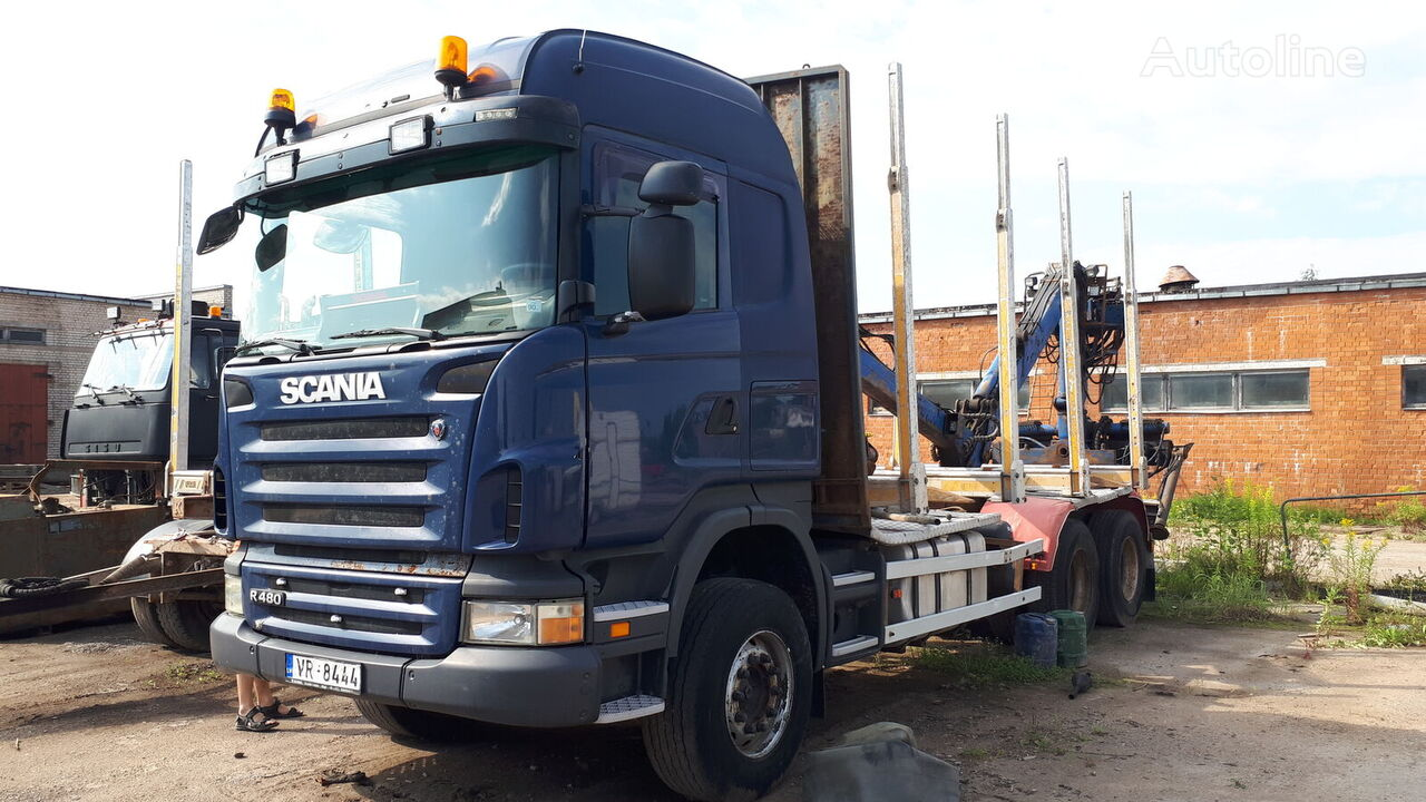 metsaveok veoauto SCANIA R480