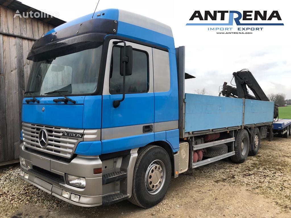 parda- veoauto MERCEDES-BENZ Actros 2540