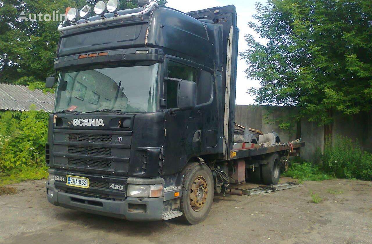 platform veoauto SCANIA 124