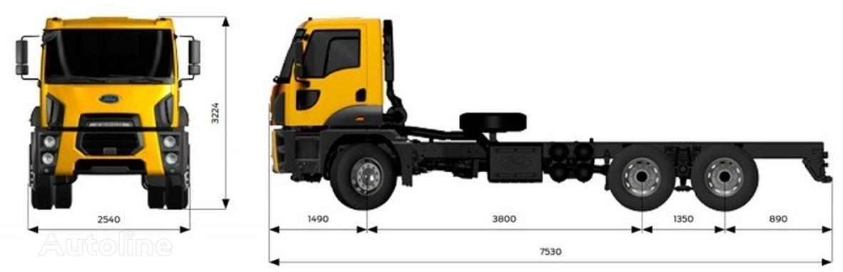 uus šassii veoauto FORD 4142M