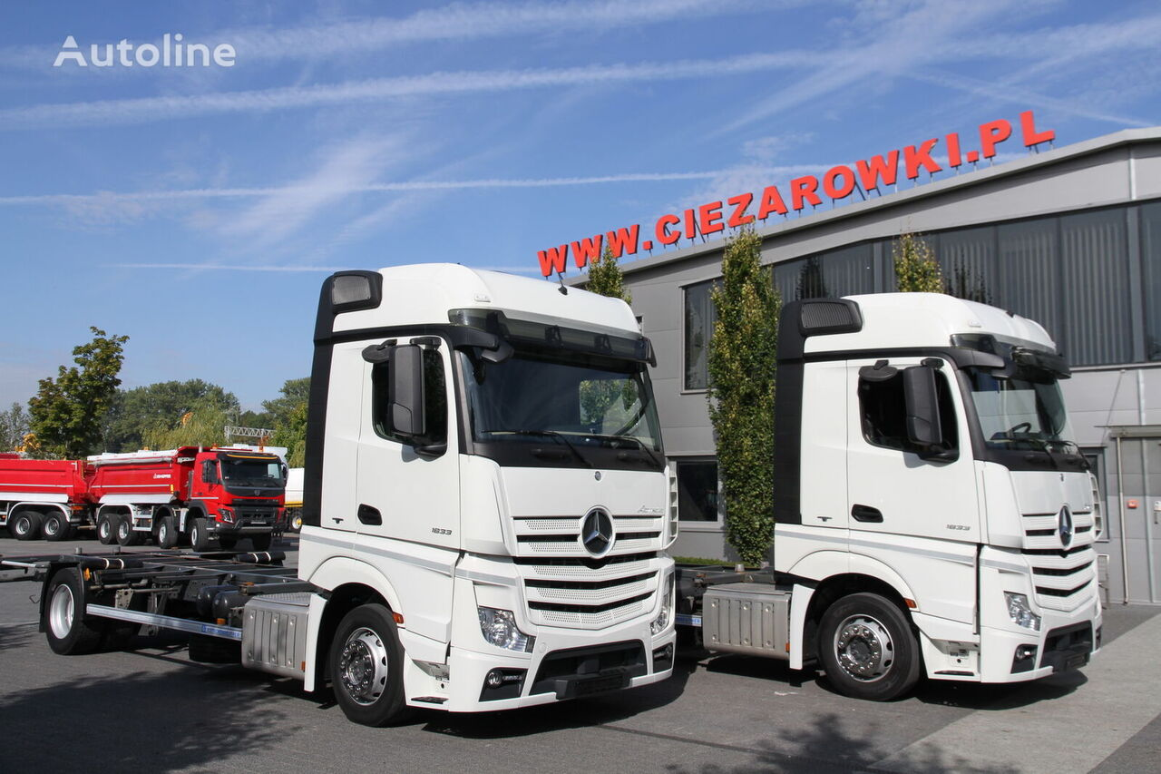 šassii veoauto MERCEDES-BENZ ACTROS 1833 MP4 BDF CHASSIS