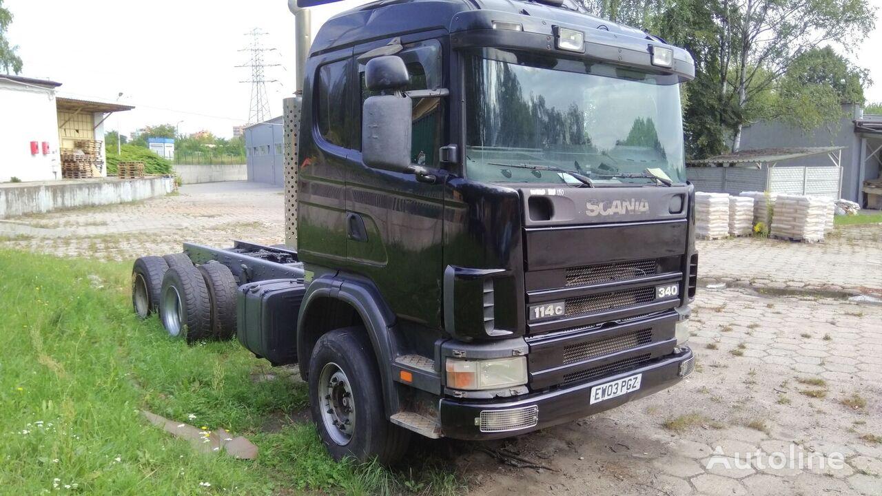 šassii veoauto SCANIA 114.340 6x4