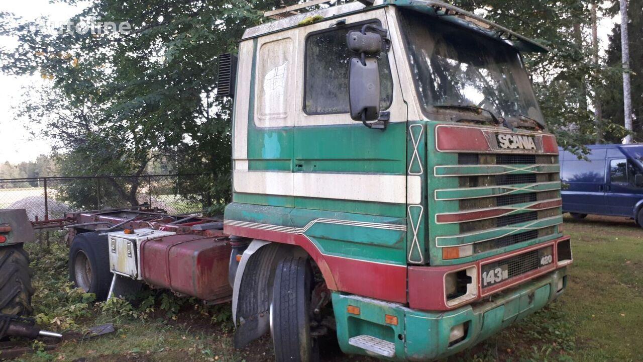 šassii veoauto SCANIA for parts