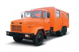 uus sõjaväe veoauto KRAZ 65053 мастерская