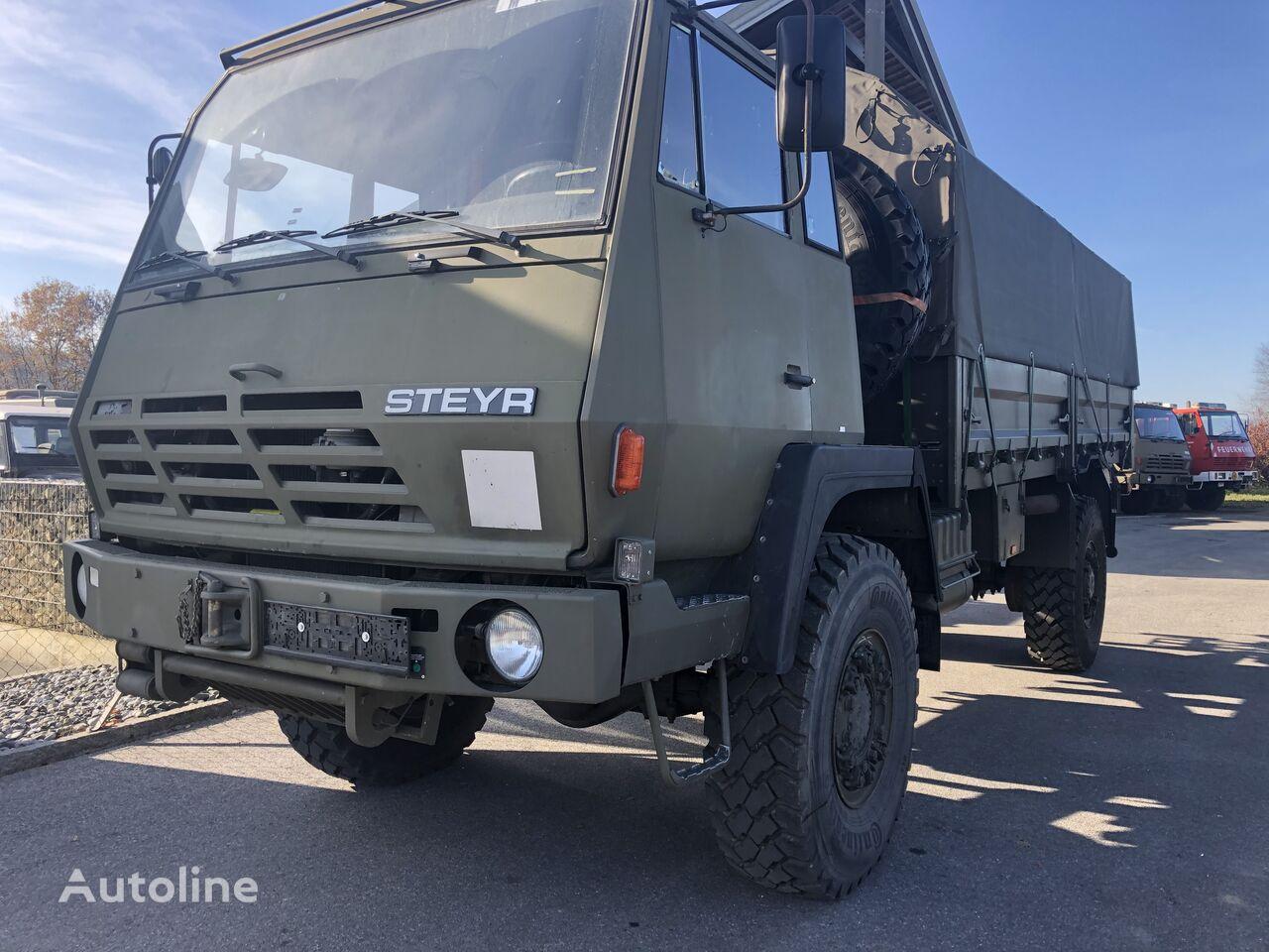 sõjaväe veoauto STEYR 1291.320 P43/M 4x4 Pritsche mit Plane