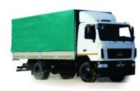uus tent veoauto MAZ 534026