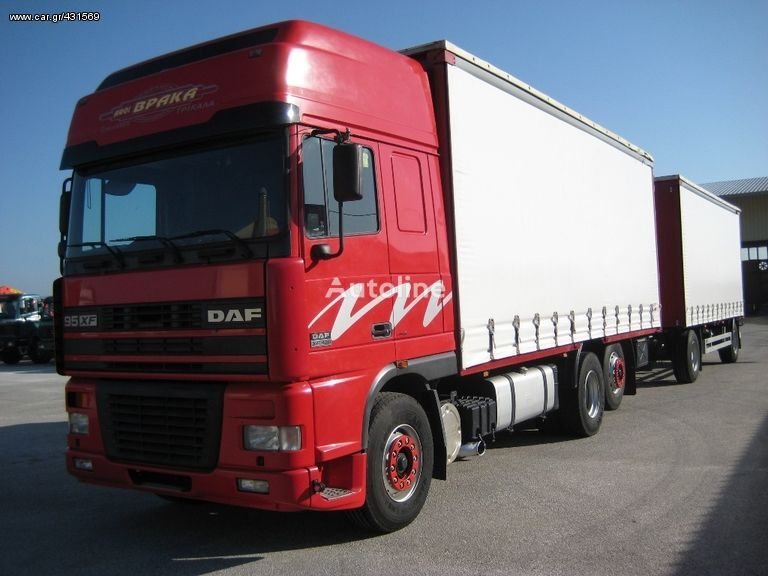 tent veoauto DAF AS 95 XF-430 '01