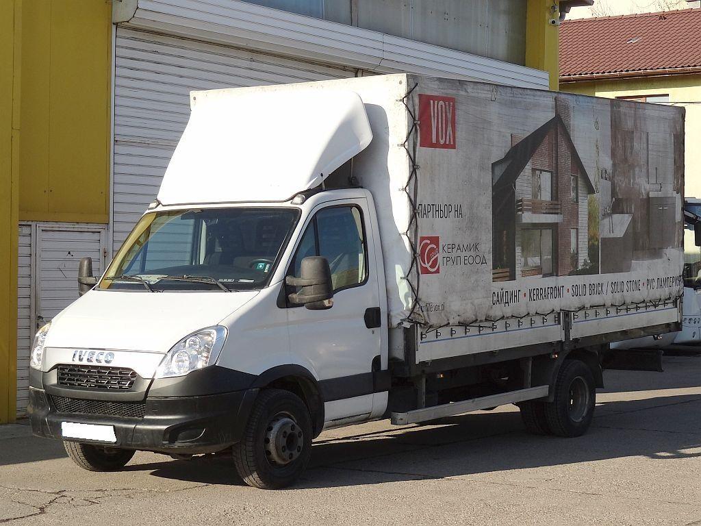 tent veoauto IVECO Daily 70C15, Euro-5