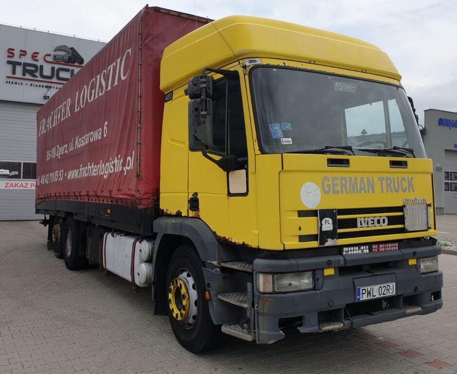 tent veoauto IVECO Eurotech 240E420