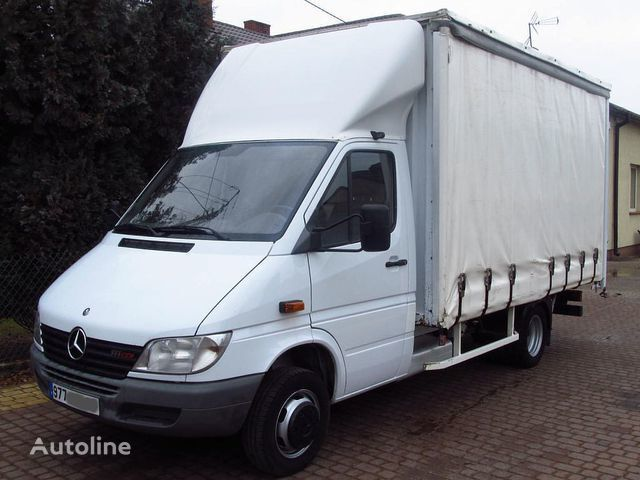 tent veoauto MERCEDES-BENZ SPRINTER 411CDI CURTAIN SIDE *FRENCH REGISTRATION*