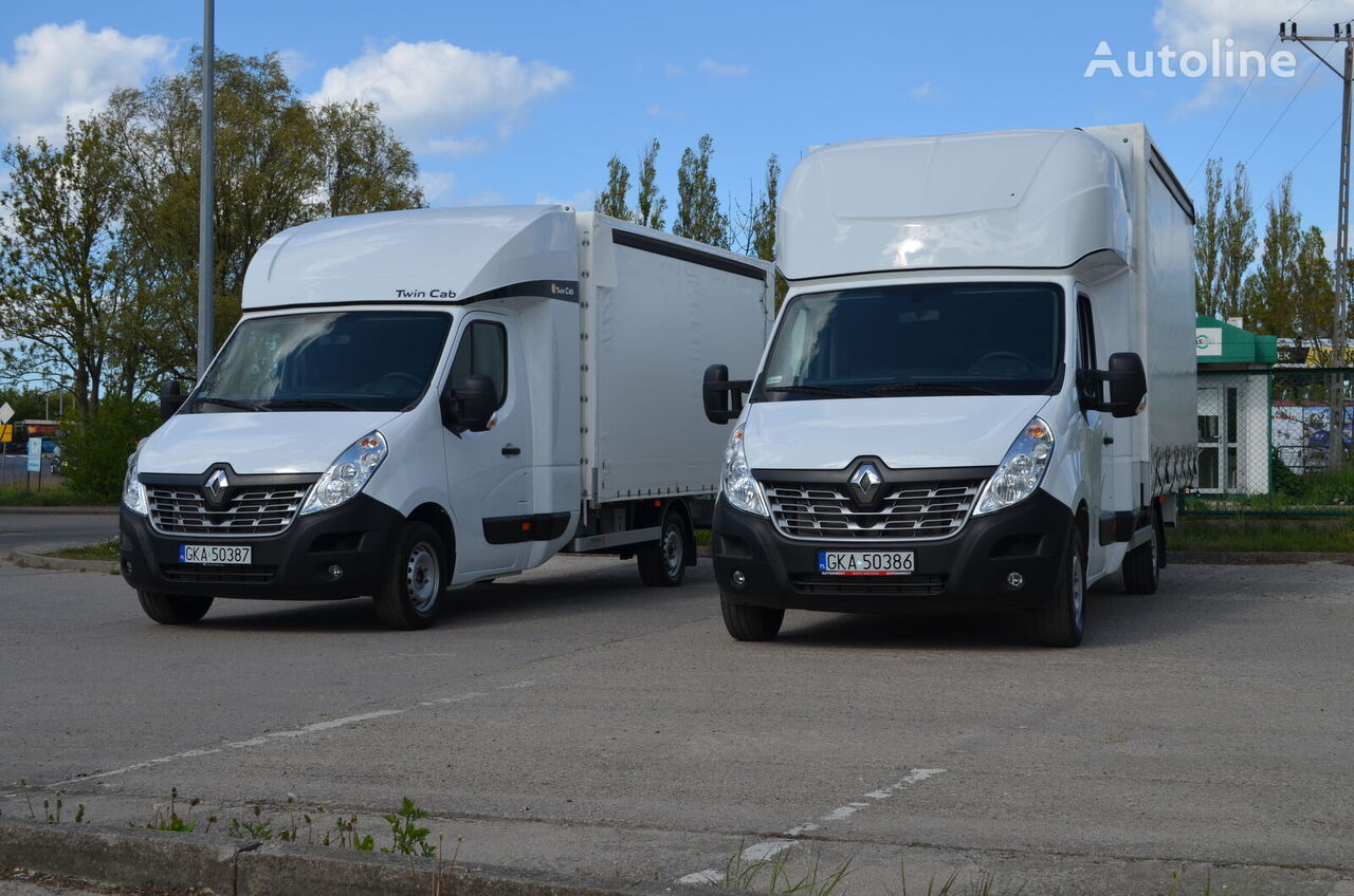 uus tent veoauto RENAULT Master 8EP TwinCab (Fridge & Table)