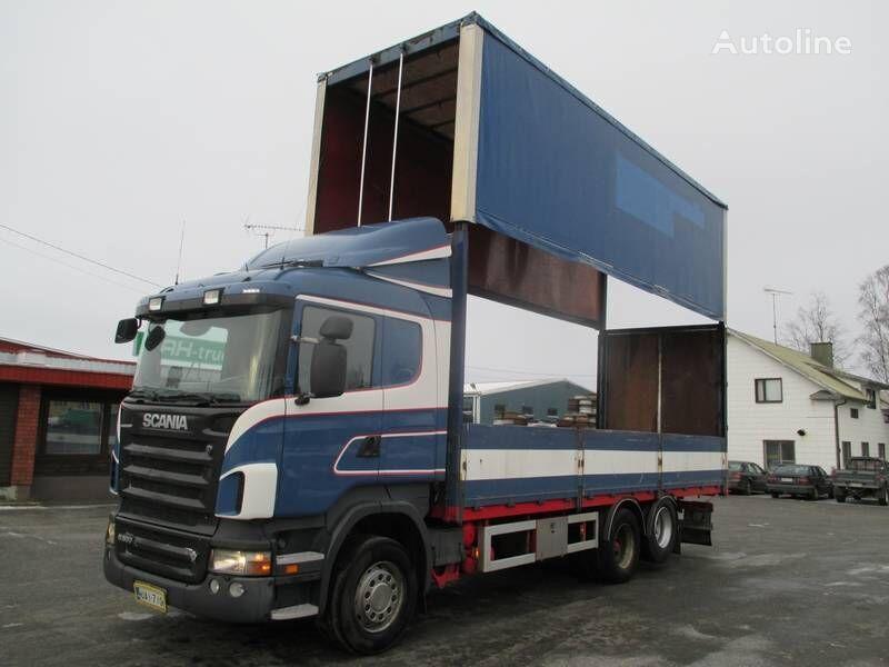 tent veoauto SCANIA R 500