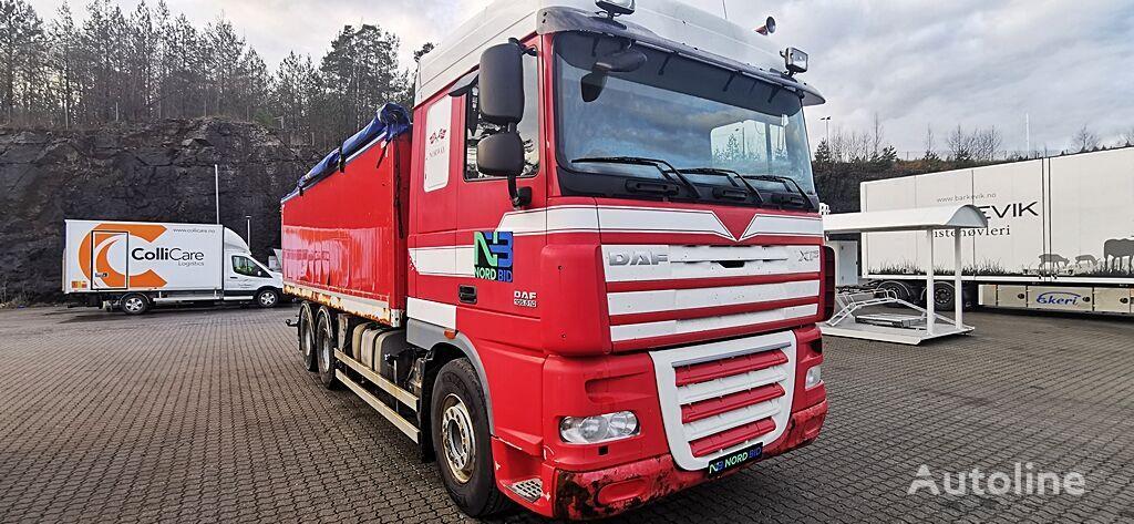 teravilja vedu veoauto DAF XF 105.410 6x4 grain tipper / getreidekipper / Euro 5